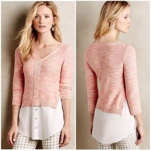 🆕{Listing} Anthropologie Moth Aselin Pullover